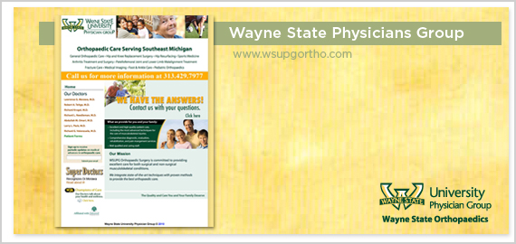 Wayne State Ortho